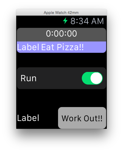 Swift WatchKit Tutorials: Programming Buttons, Switches and Timers