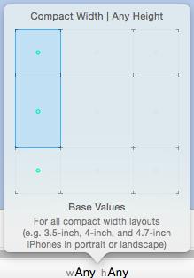 Make a compact width size class