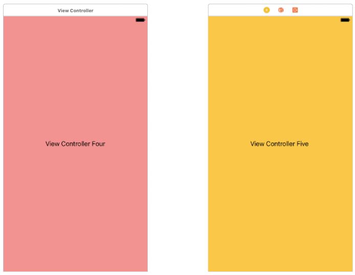 Programmatic Navigation View Controllers in Swift 3 0 – Making App Pie