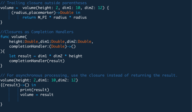 Understand and Use Closures in Swift