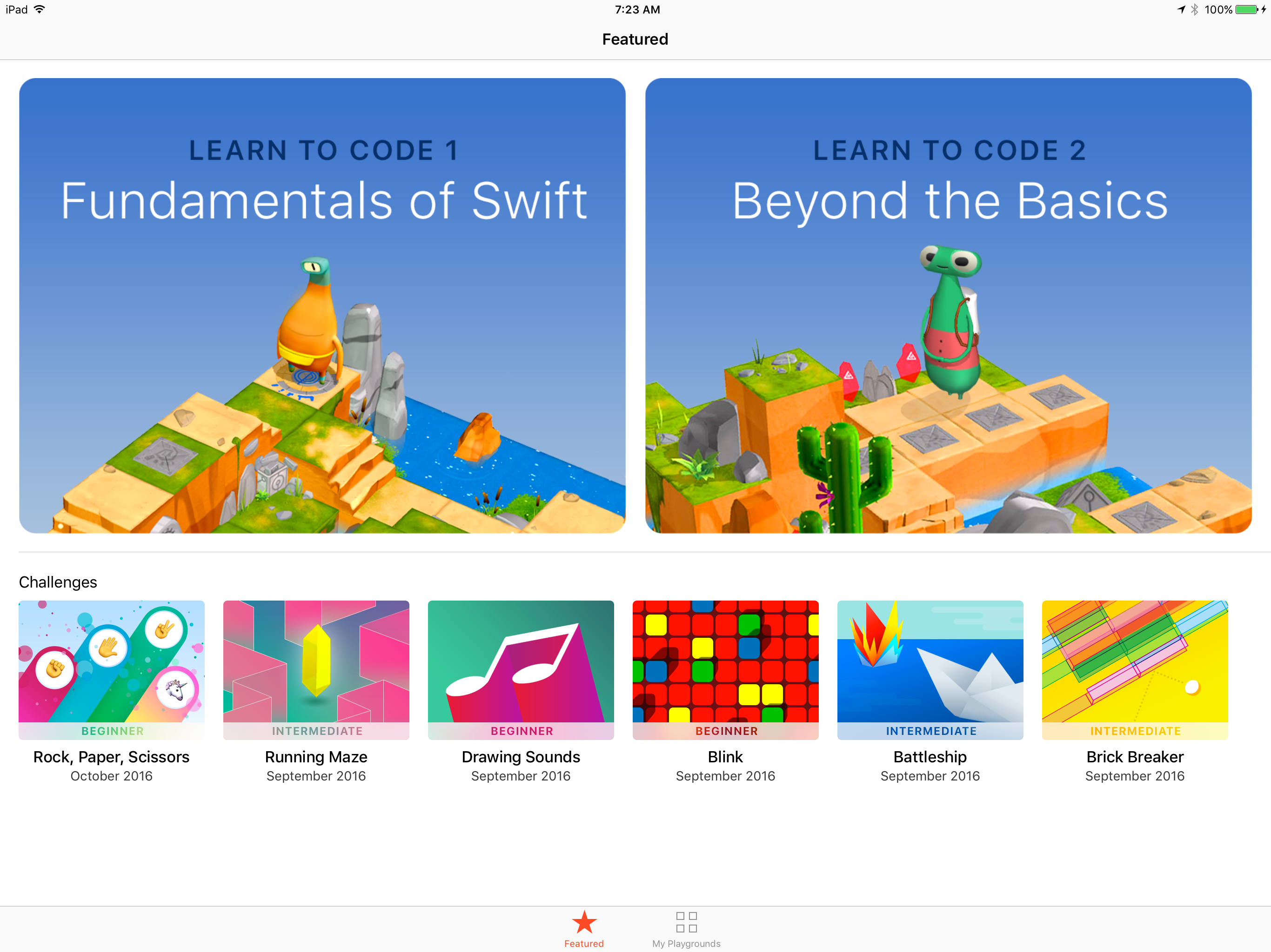 Swift iPad Playgrounds:Not Just A Cool Toy – Making App Pie