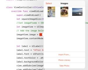 Tip: Image Literals – Making App Pie