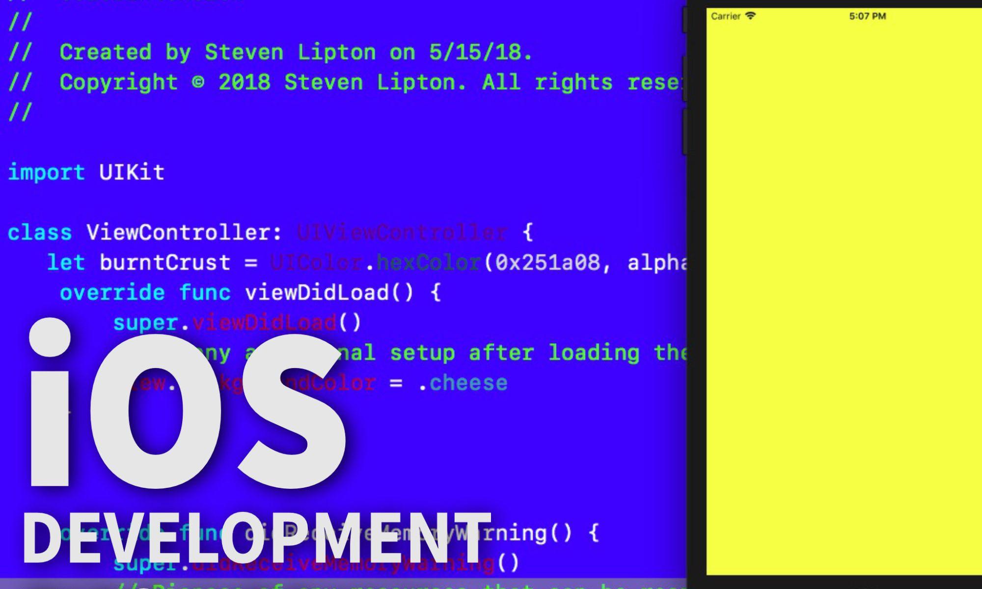 UIColor Class Extensions – Making App Pie