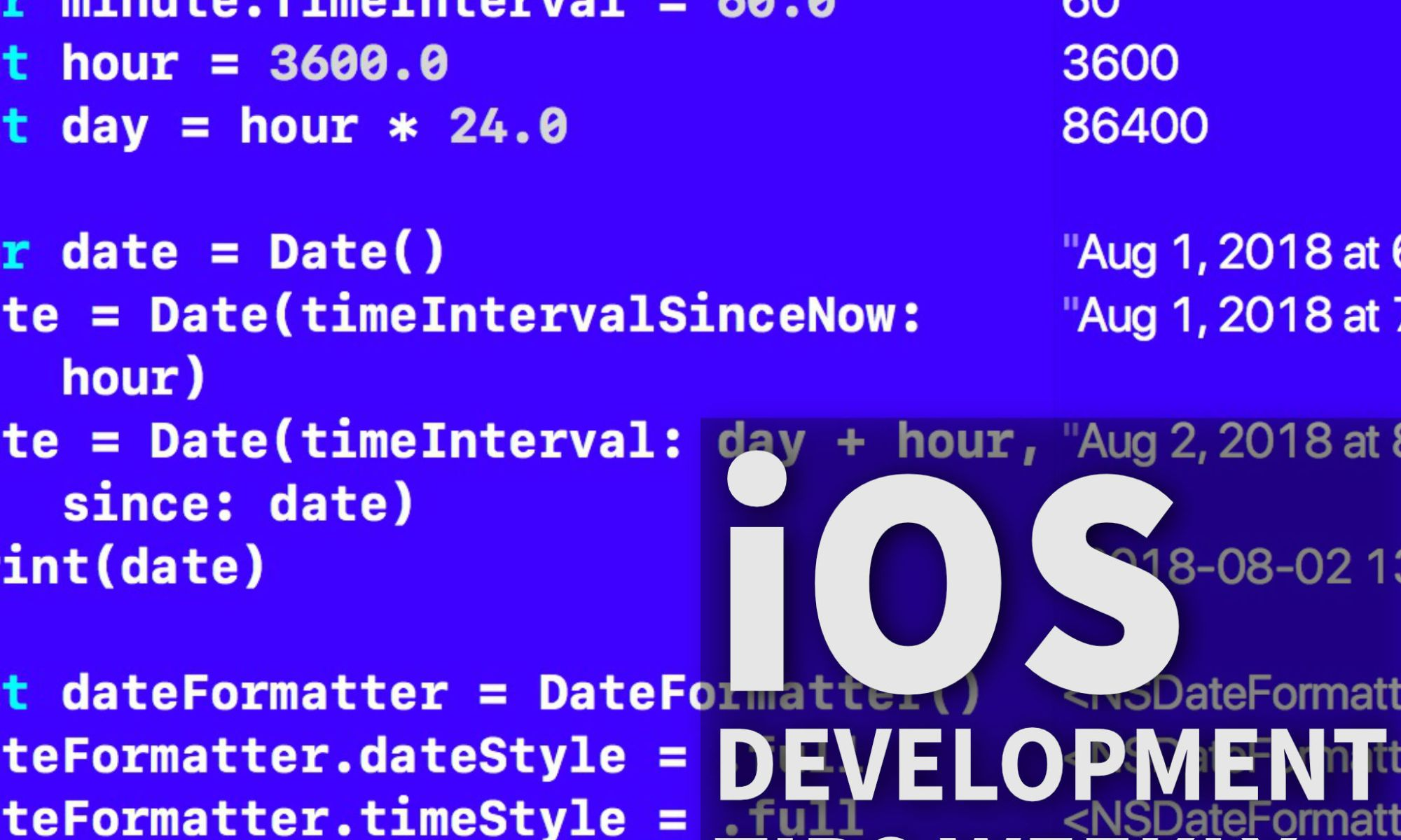 Date and Time in iOS – Making App Pie