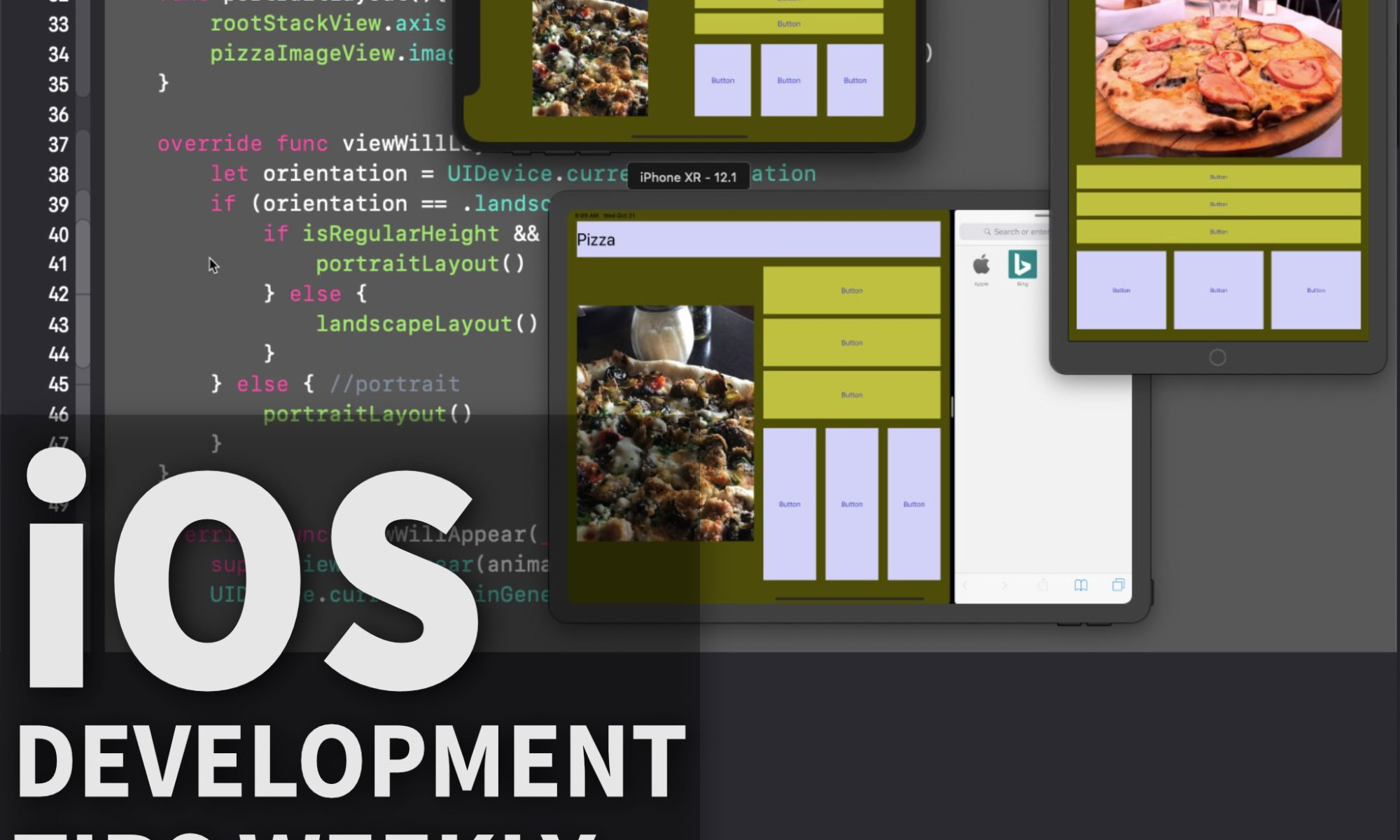 Auto Layout and Size Classes – Making App Pie