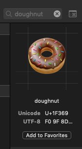 Unicode Characters in Strings – Making App Pie
